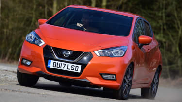 Nissan Micra - front action
