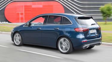 Mercedes B-Class - rear