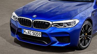 BMW M5 - front detail