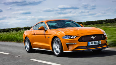 Ford Mustang - O/S Tracking