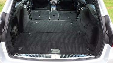 Mercedes E-Class Estate E220d UK - boot seats down