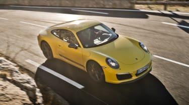Porsche 911 Carrera T - front above