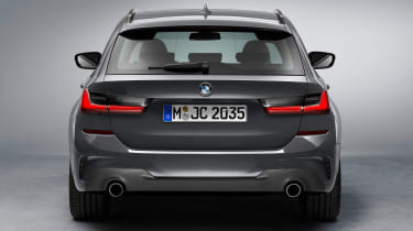 BMW 3 Series Touring - studio full rear
