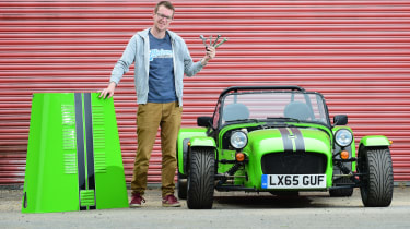 Long-term test review: Caterham 310S - fifth report header