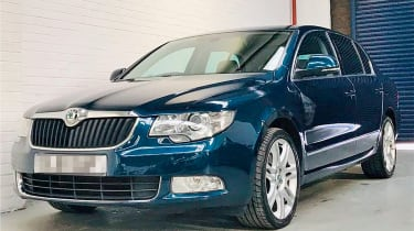 repaired skoda superb