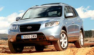 Front view of Hyundai Santa Fe