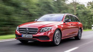 Mercedes E-Class Estate 2016 - front tracking