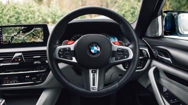 New BMW M5 - steering wheel