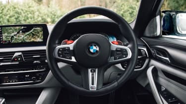 New BMW M5 - steering wheel