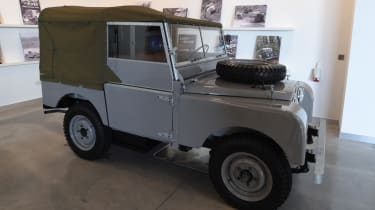 Land Rover Series One frontish quarter