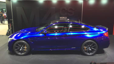 New BMW M4 CS