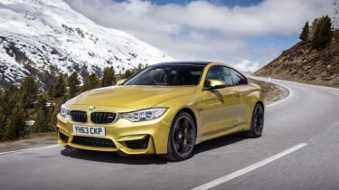 BMW M4 front 3/4