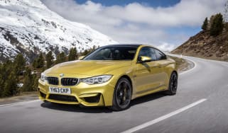 BMW M4 front 3/4