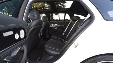 Mercedes-AMG E 63 S rear seats