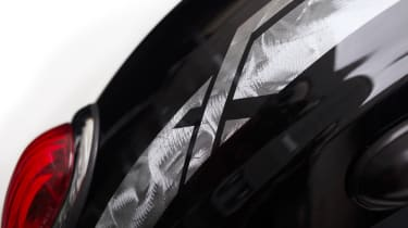 Triumph Rocket III - Limited Edition Rocket X - rear badge