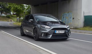 Ford Focus RS500 mule front side