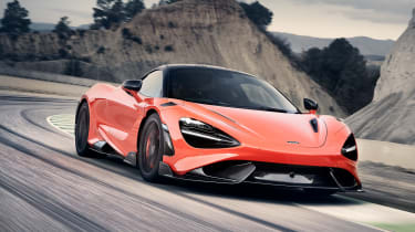 When discussing a new McLaren, the numbers generally do the talking. So, based on the 720S, the new 765LT is 80kg lighter, has 25 percent more downforce and is the most powerful LT ever made… 754bhp and 800Nm of torque, from a 4.0 litre twin-turbocharged