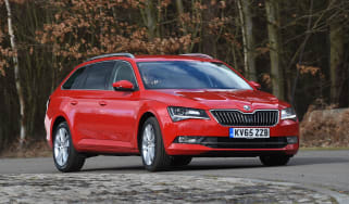 Skoda Superb long-term test - front cornering