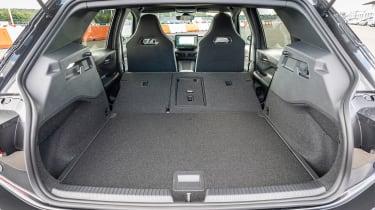 Cupra Born - boot seats down