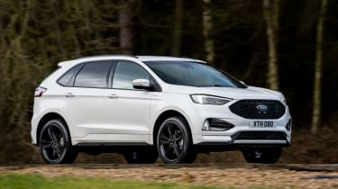 Ford Edge facelift 2018 side