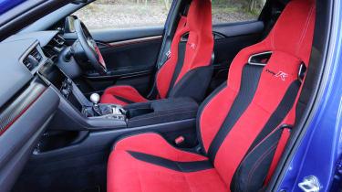 Honda Civic Type R - front seats