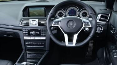 Mercedes E-Class Cabriolet dashboard