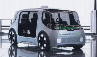 Jaguar Land Rover Project Vector - front
