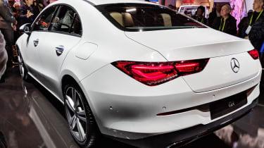 Mercedes CLA - CES 2019 rear