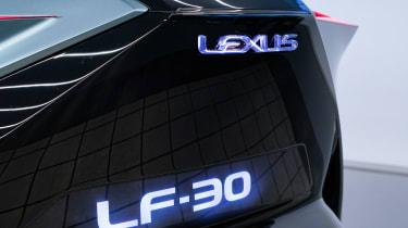 Lexus LF-30 concept car Tokyo 2019