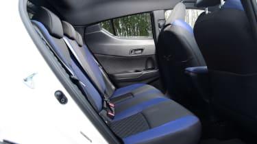 Toyota C-HR - rear seats