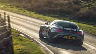 Mercedes-AMG GT rear - Footballers' cars