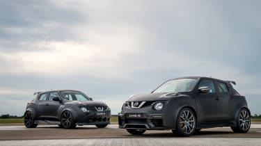 Nissan Juke-R old vs new