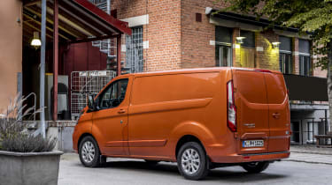 Ford Transit Custom PHEV rear quarter