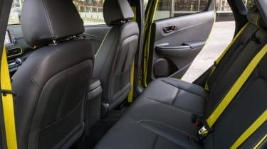 Hyundai Kona Premium SE 2017 - rear seats