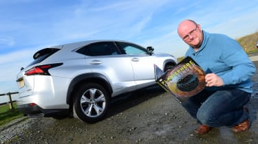 Lexus NX long-termer - final report header