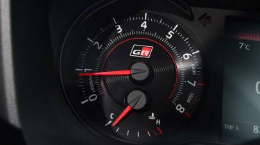 Toyota Yaris GRMN - dial detail
