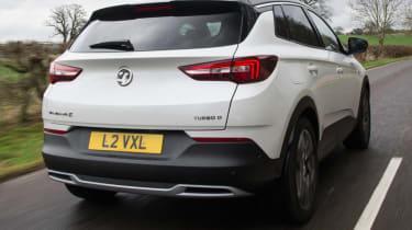 Vauxhall Grandland X new Ultimate trim rear