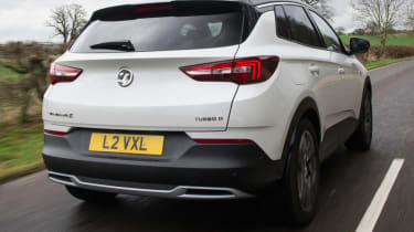Vauxhall Grandland X new Ultimate trim rear