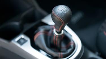 Honda Jazz - gear lever