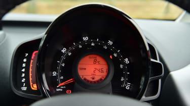 Toyota Aygo - interior
