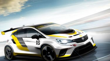 Opel Astra race car