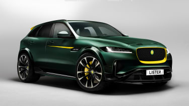 Lister LFP - front