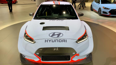 Hyundai RM19 concept - Los Angeles full front