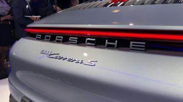 Porsche 911 - LA reveal rear detail