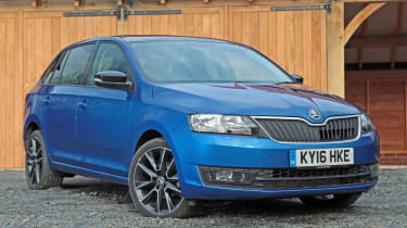 Used Skoda Rapid Spaceback - front