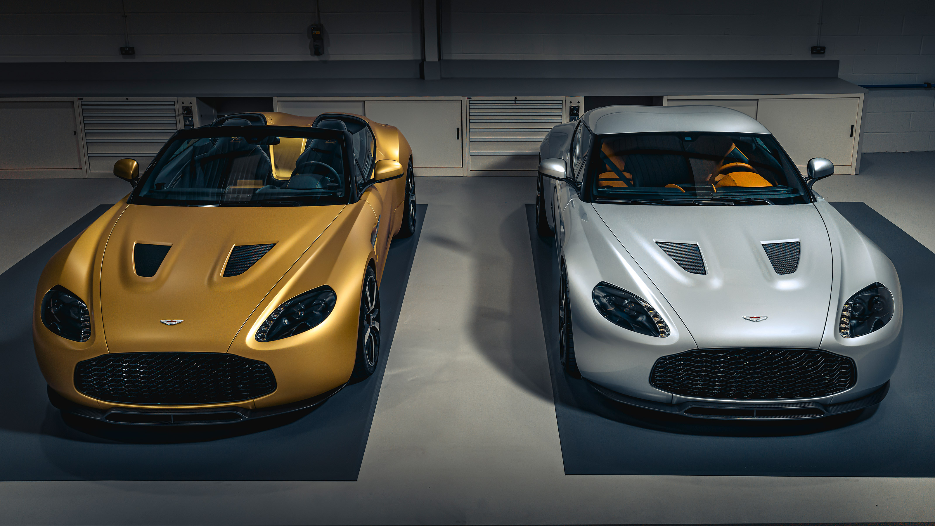 First Pair Of Aston Martin Vantage V12 Zagato Heritage Twins Completed Auto Express