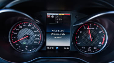 Mercedes AMG GLC 63 S - dashboard