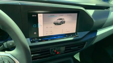 VW Caddy - infotainment reveal