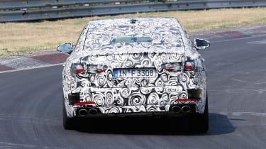 2018 Audi S6 - rear
