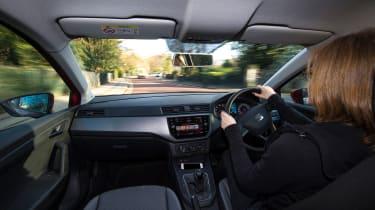 Ford Fiesta vs SEAT Ibiza - driving